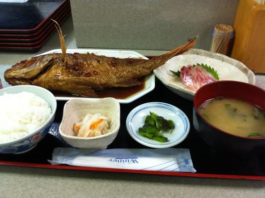 お食事処 福魚食堂(真鯛の揚げ煮定食)4