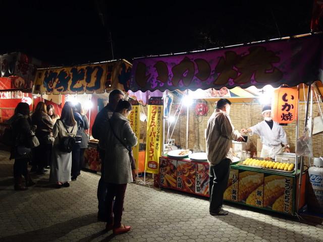 第7回 福岡城さくらまつり夜桜屋台5