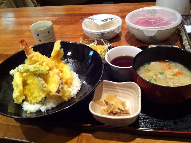 カレー屋サラちゃん 天丼4