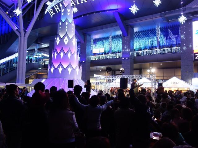 クリスマスマーケット in 光の街・博多-ステージ2