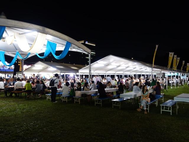 舞鶴公園オクトーバーフェスト2015の様子3