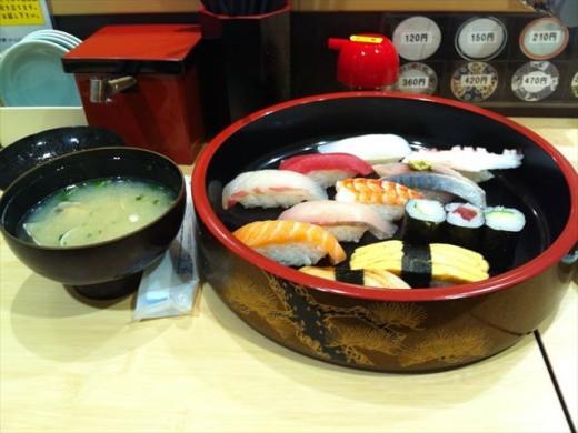 博多1番街⑬まわる寿司 博多魚がし3