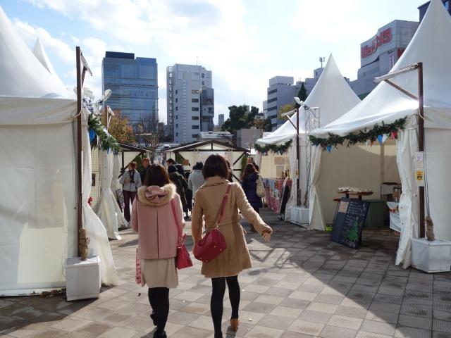 マルシェドノエル福岡天神2014-12