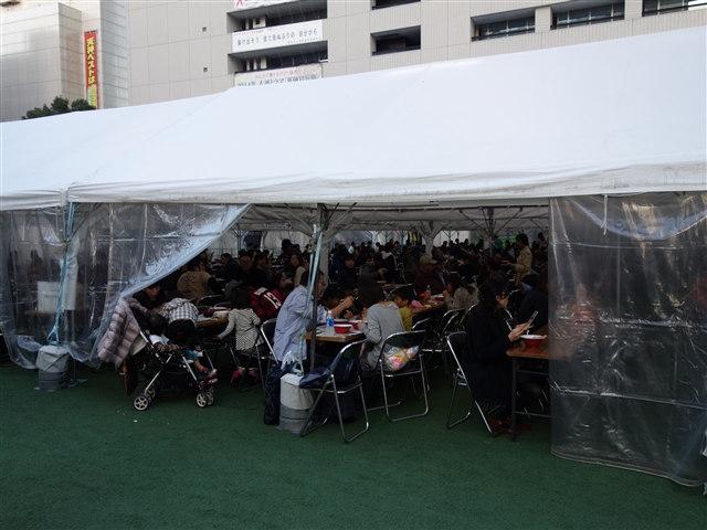 福岡ラーメンショー2014(第一幕)イートイン1