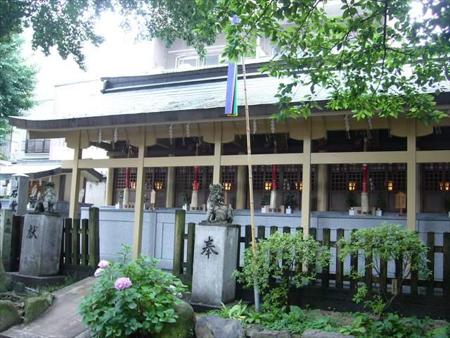 櫛田神社末社群左