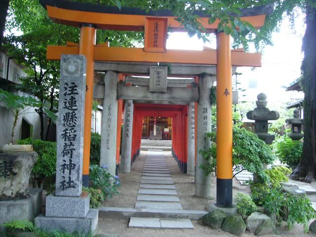 櫛田神社注連懸稲荷神社