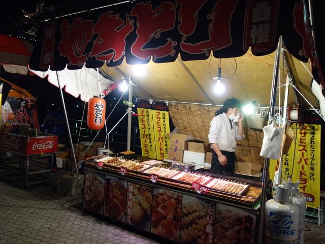 第7回 福岡城さくらまつり夜桜屋台2