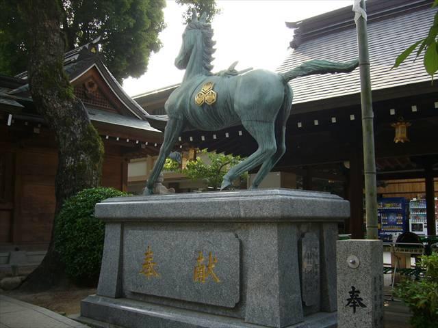櫛田神社神馬