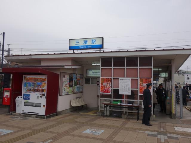 第21回 城島酒蔵びらき三潴駅帰り1