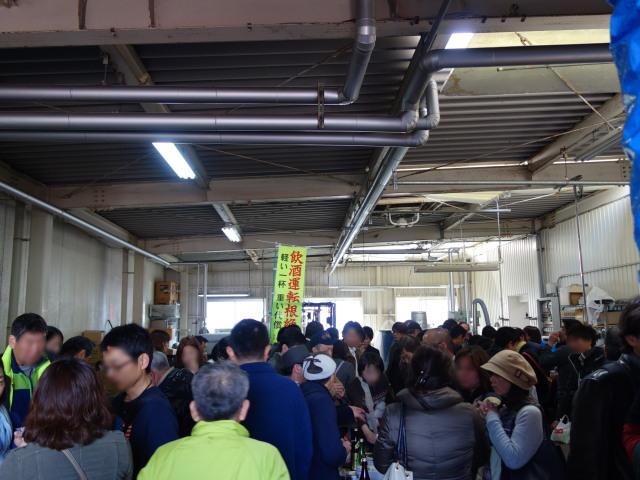 大賀酒造 2015年 春の酒蔵開き様子3