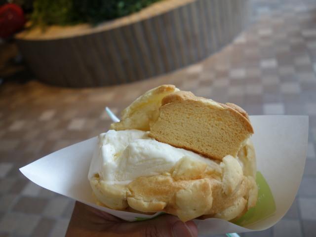 世界で2番目においしい焼きたてメロンパンアイス8