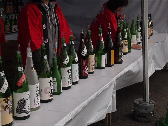 城島の酒飲みくらべコーナー2