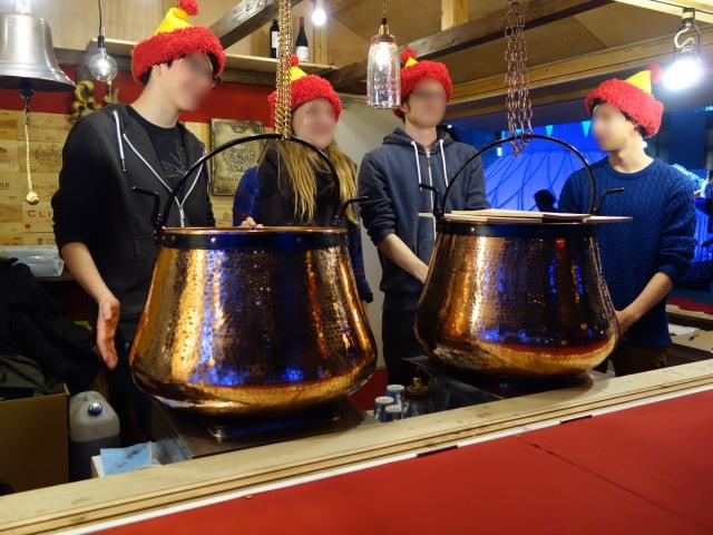 クリスマスマーケット in 光の街・博多-ヒュッテ3