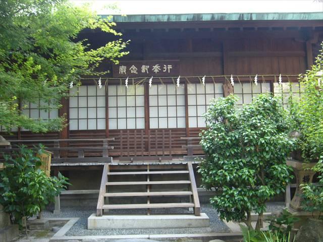 櫛田神社大正天皇行幸殿