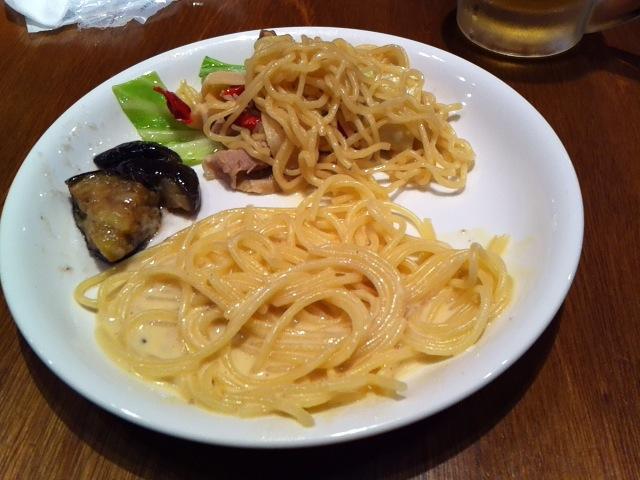 ザ・グローバルブッフェ クーリア食事3