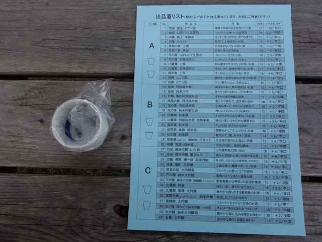 第21回 城島酒蔵びらき飲み比べ2