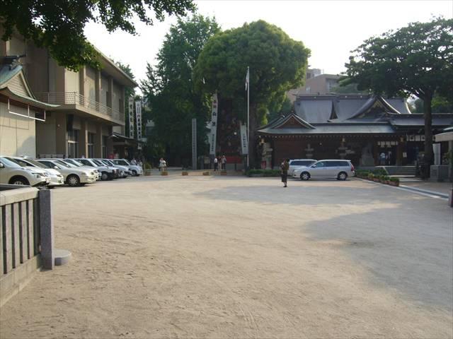 櫛田神社清道