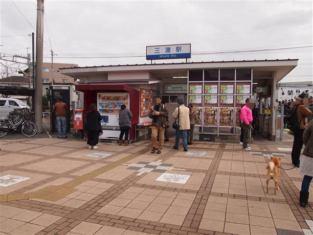 西鉄三潴駅行き1
