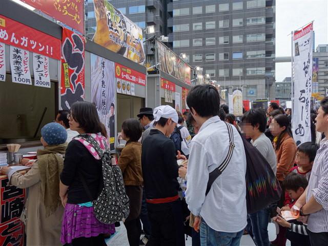 福岡ラーメンショー2014(第二幕)中華そばムタヒロ1-2