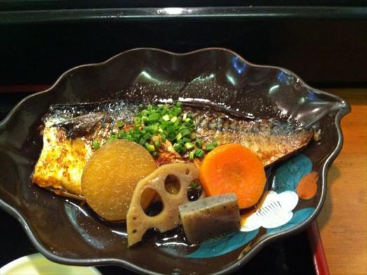 味処 一魚一栄(鯖の煮付け定食)4