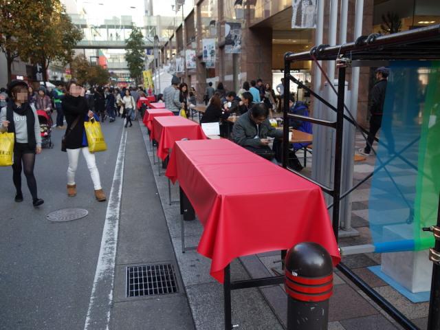 FUKUOKA STREET PARTY-テーブル1