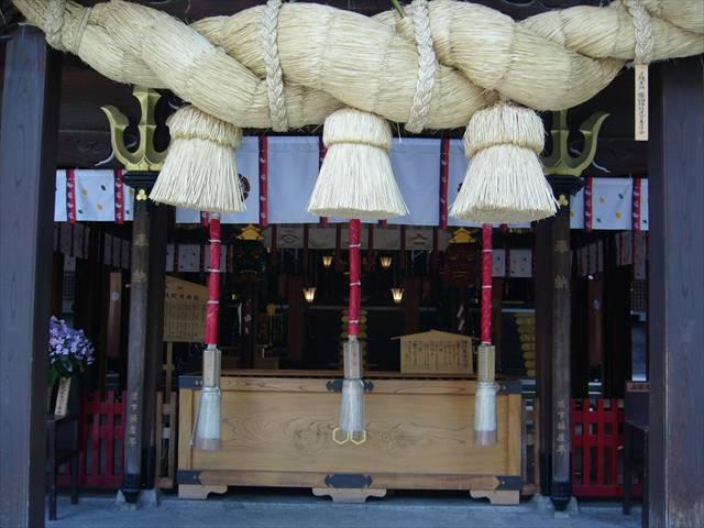 櫛田神社拝殿2