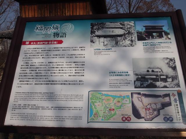 福岡城梅の花2014上3