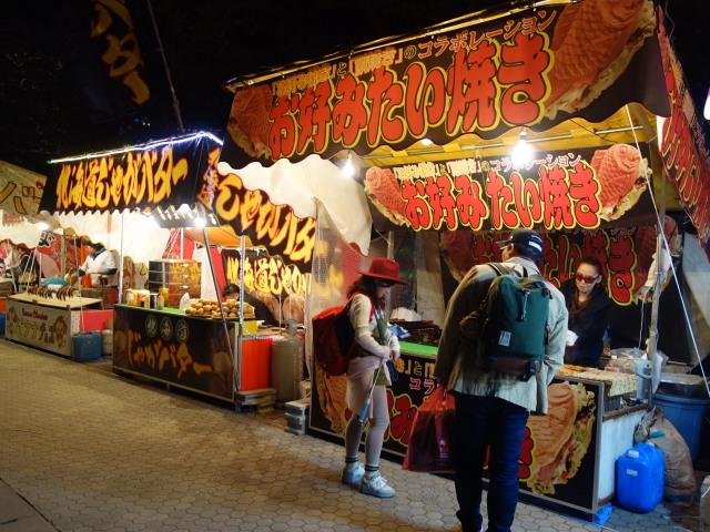 第7回 福岡城さくらまつり夜桜屋台4
