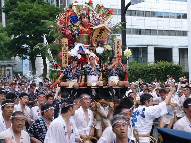 博多祇園山笠2013集団山見せ6