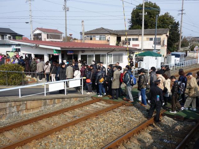 第21回 城島酒蔵びらき三潴駅行き2