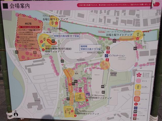 第5回 福岡城さくらまつり様子3