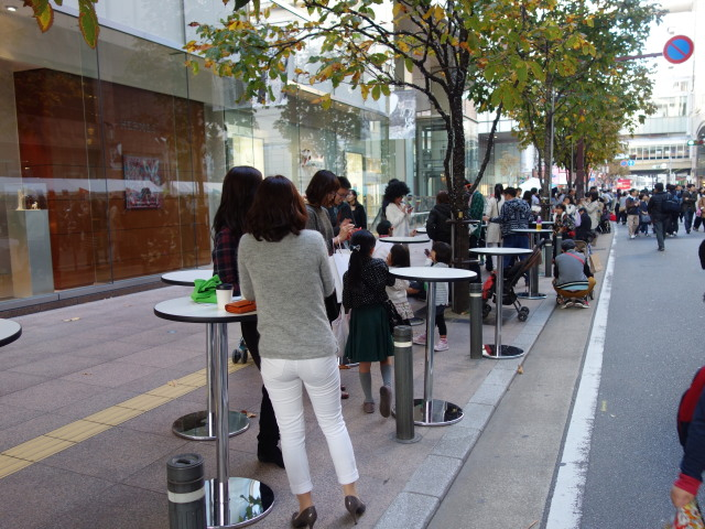 FUKUOKA STREET PARTY-テーブル3