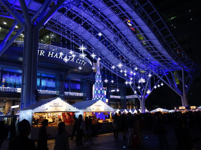 クリスマスマーケットin光の街・博多様子2