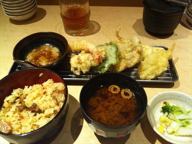 ヨドレス③天ぷら定食 あげな2