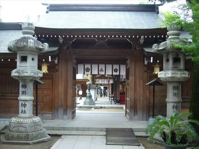 櫛田神社脇門