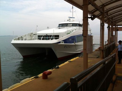 博多市営渡船 きんいん号8