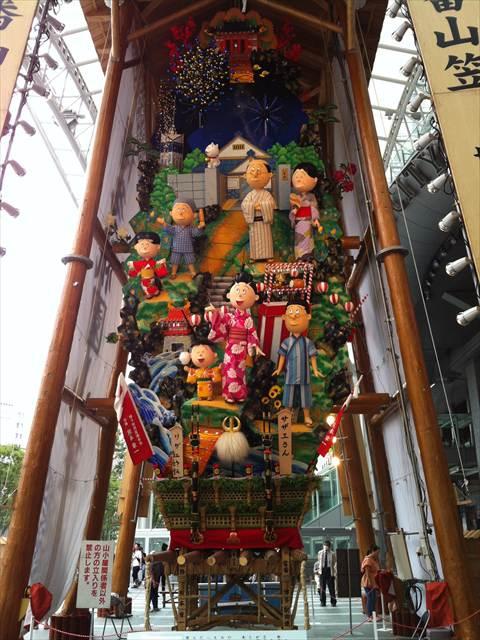 博多祇園山笠2013飾り山博多口2