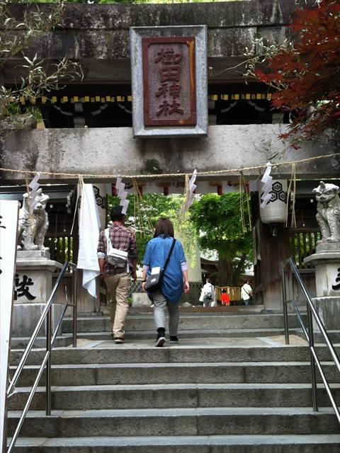 櫛田神社南神門
