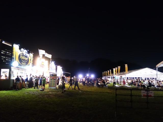 舞鶴公園オクトーバーフェスト2015の様子4