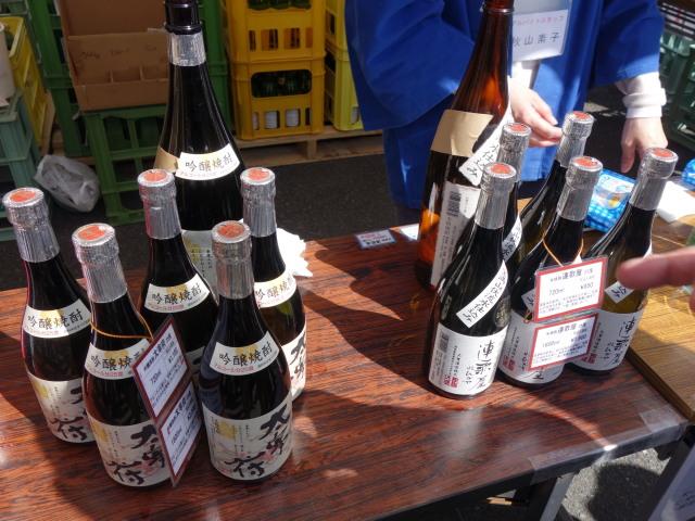 大賀酒造 2015年 春の酒蔵開き試飲11