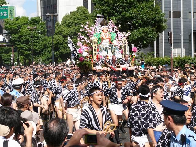 博多祇園山笠2013集団山見せ12