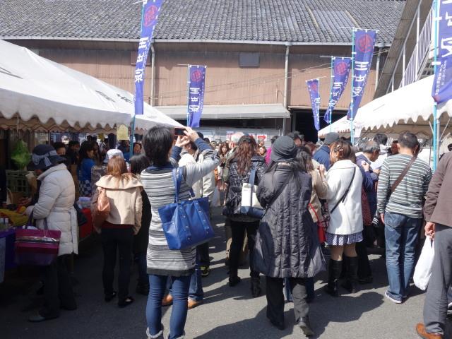 大賀酒造 2015年 春の酒蔵開き様子2