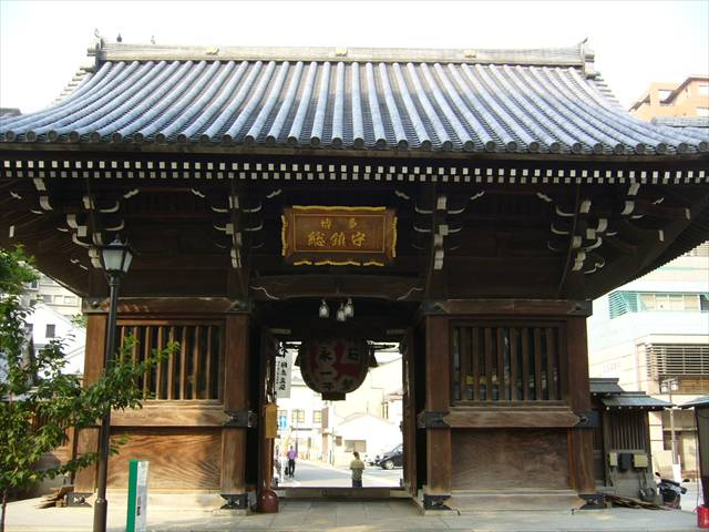 櫛田神社楼門