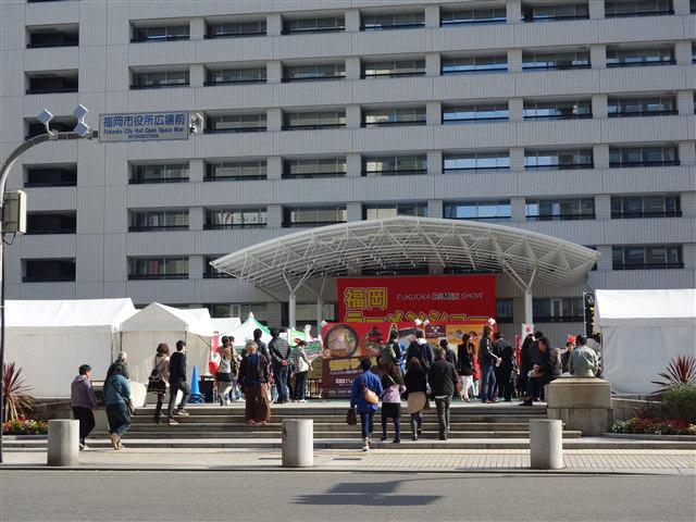 福岡ラーメンショー2014(第一幕)様子1