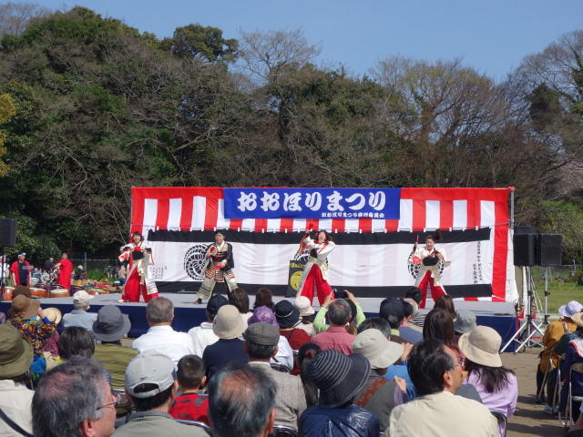 福岡城さくらまつり2015西広場5