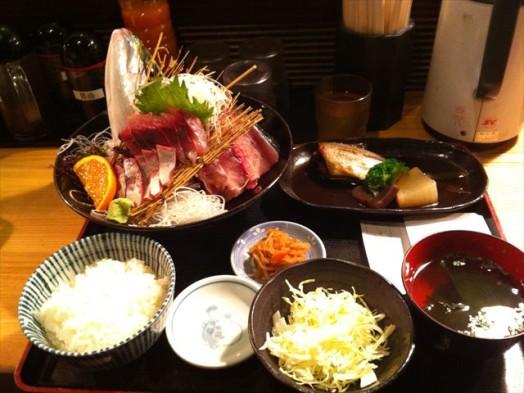 市場食堂 博多 魚がし(ヤズ姿造り)6