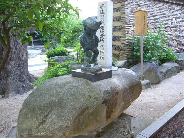 櫛田神社小便小僧