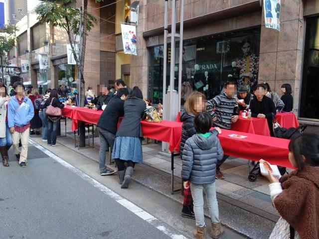 FUKUOKA STREET PARTY-テーブル2