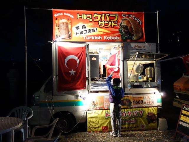 福岡城さくらまつり2015(夜桜)屋台21