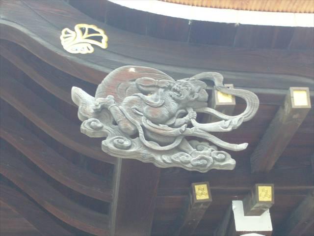 櫛田神社風神